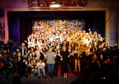 Full cast press shot Chicago
