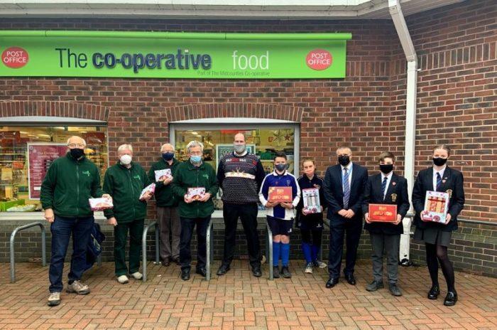 Whitchurch Foodbank donation